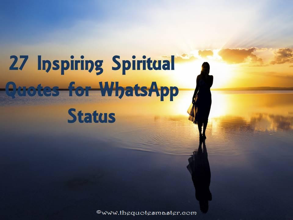 27 Inspiring Spiritual Quotes For Whatsapp Status