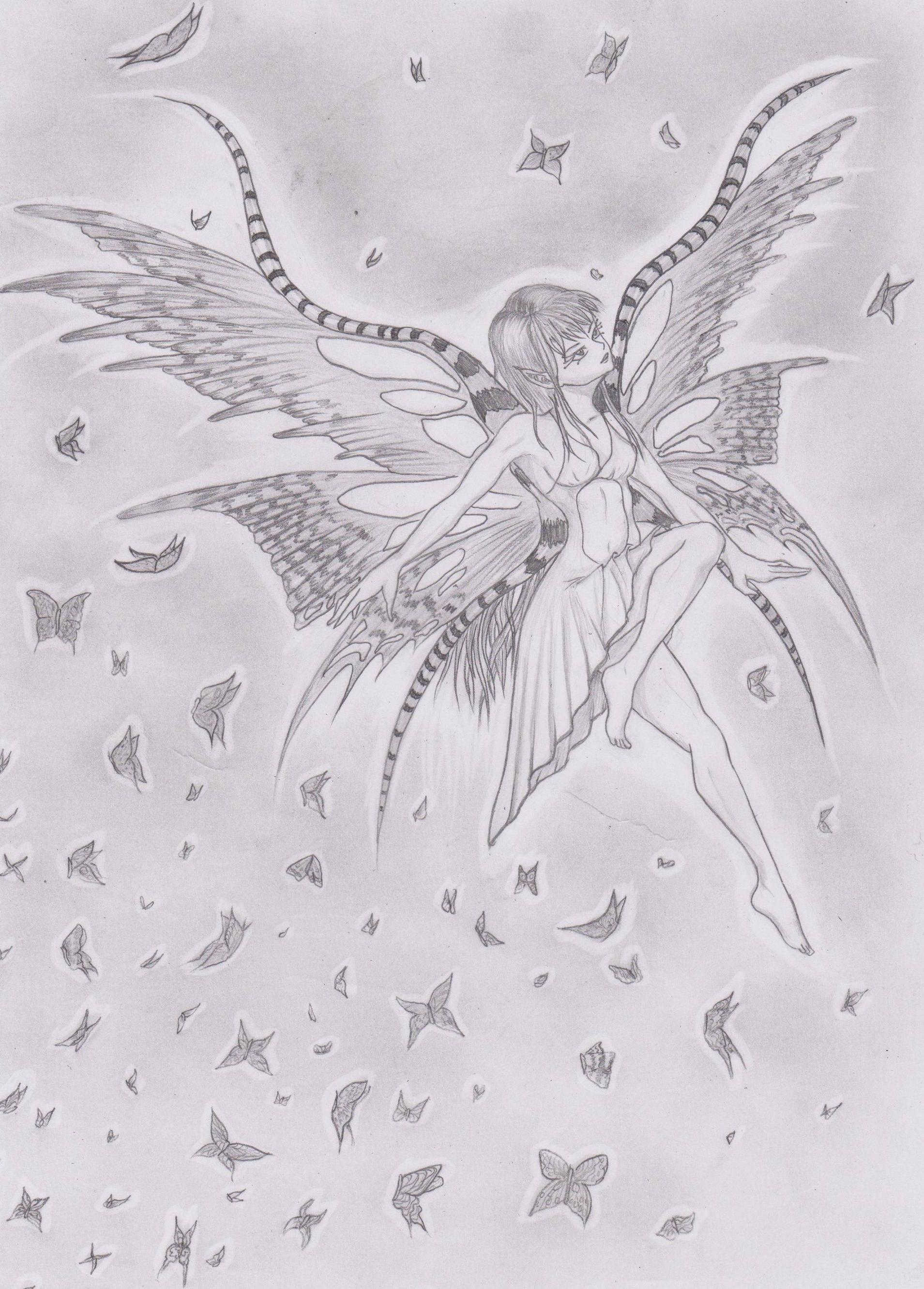Anitr Peri Konulu 5 çizim Yarışmasıanket Sona Ermiş çizim