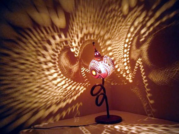 Amazing Art Inspired Gourd Lamps (3)