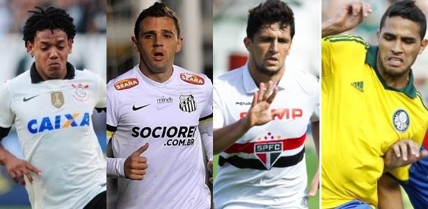 Corinthians, Santos, São Paulo e Palmeiras foram cabeças de chave do torneio