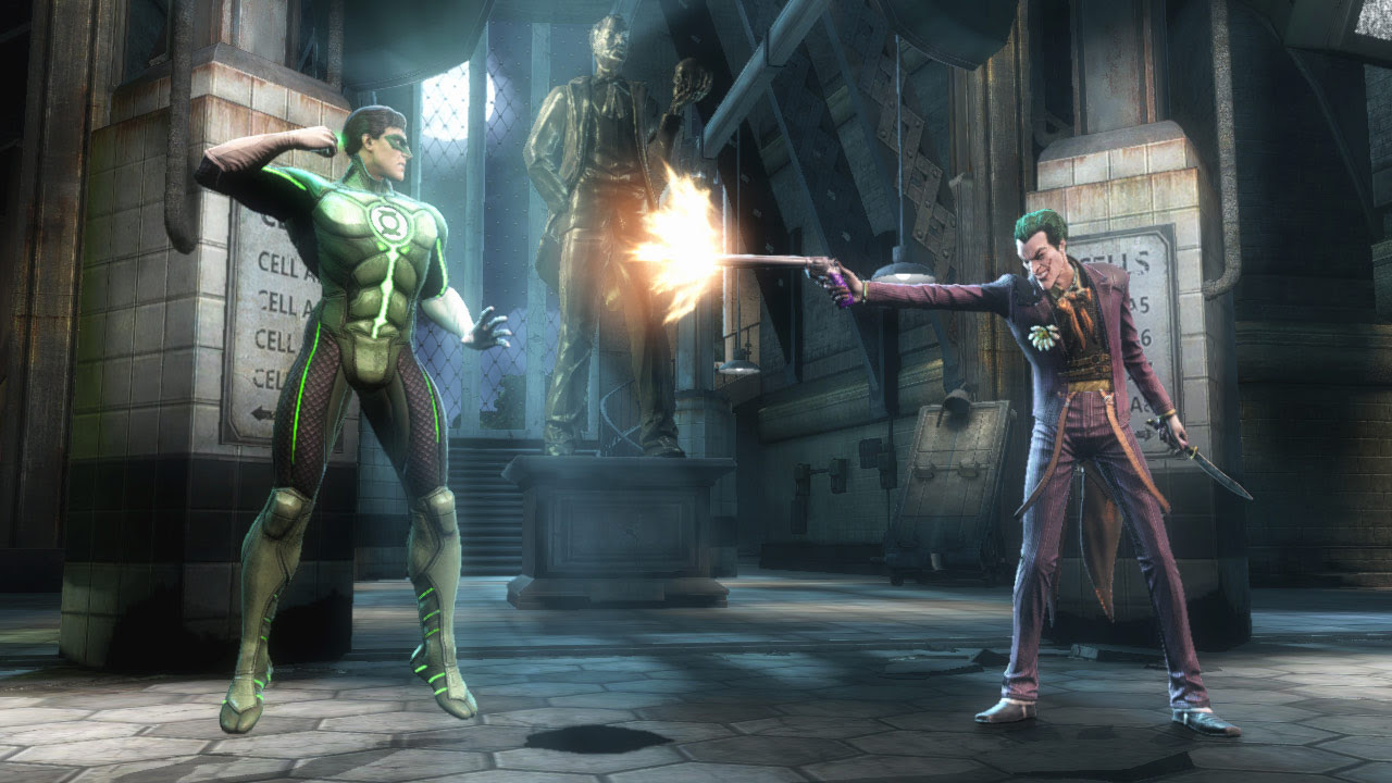 Injustice: Gods Among Us screen shots and artwork for Green Arrow #4