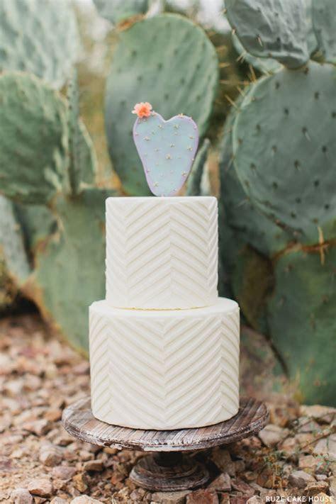 Prickly Pear Wedding Cake