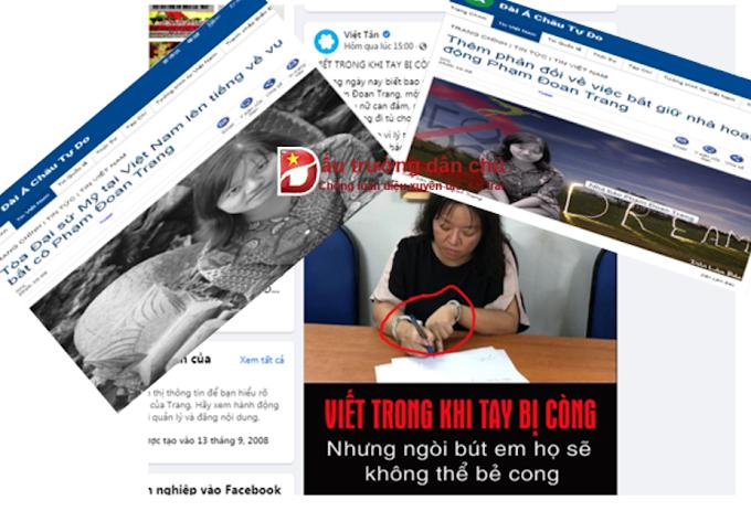 Những tính toán ảo tưởng trong kịch bản đi tù của Phạm Đoan Trang (1)