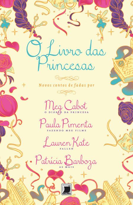 Querem saber o que a Princesa Mia achou de O Livro das Princesas? Lançamento em julho de 2013. Da mesa da Princesa Mia Thermopolis:  Olá, amigos, fãs e companheiros admiradores de princesas (ou eu deveria dizer simpatizantes de princesas?)! Eu mal pude acreditar quando alguém do Brasil permitiu que EU desse uma olhadinha neste livro. Mas acho que faz sentido, já que, além de ser uma princesa, também tenho verdadeira paixão por histórias românticas! Acreditem no que eu digo, este livro tem essas duas coisas de sobra! Mas são releituras contemporâneas, com reviravoltas que farão você dizer owwwwnnnnnn…  Uma Cinderela DJ? Rapunzel popstar? Bela é uma supermodelo? E UNICÓRNIOS em A Bela Adormecida?! Sim, por favor! Mais, mais. POR FAVOR. Não se preocupem, tem mais. Muito mais. Eu amei, e vocês também vão! (Sim, você também vai amar, Tina Hakim Baba. Pode pegar meu exemplar emprestado quando eu terminar de ler. Não, melhor: compre o seu. Assim você vai poder ler de novo e de novo, como eu pretendo fazer.)   Sinceramente, Sua Alteza Real,Princesa Mia Thermopolis  Genovia,2013