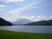 Lake Nojiri in Nagano, Japan 野尻湖(長野県信濃町) A vie...