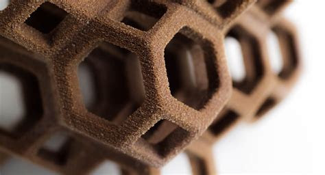 Geometric Confectionery: 3D Printed Sugar Cubes by The