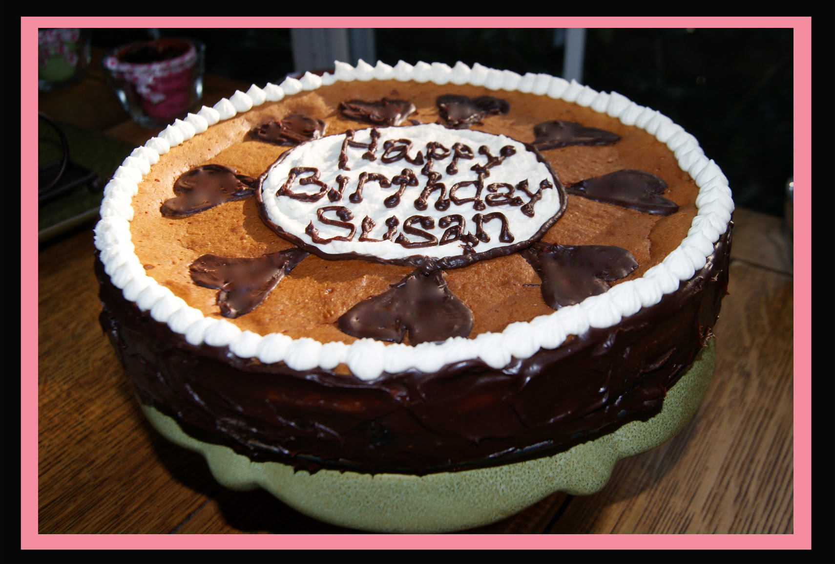 Susans Triple Decker Cheesecake