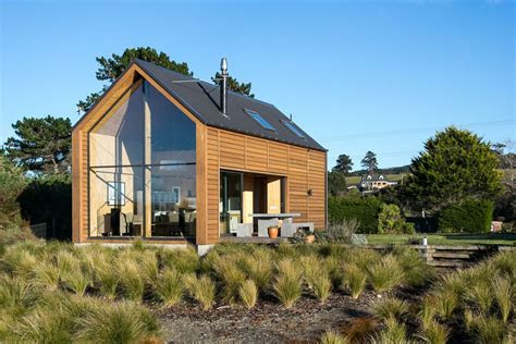 una casa de madera moderna inspirado en pescadores