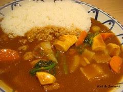 季節の野菜カレー @ ケンズカリーヨドバシ梅田店