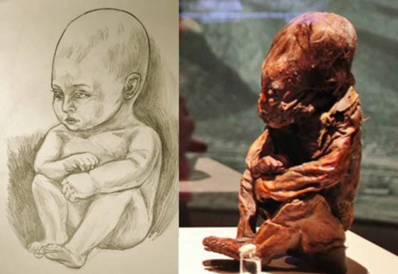 Mark Laplume interpretation of Detmold Child