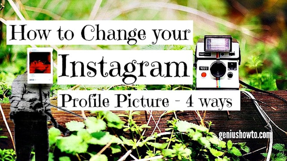How to Change your Instagram Profile Picture - 4 ways