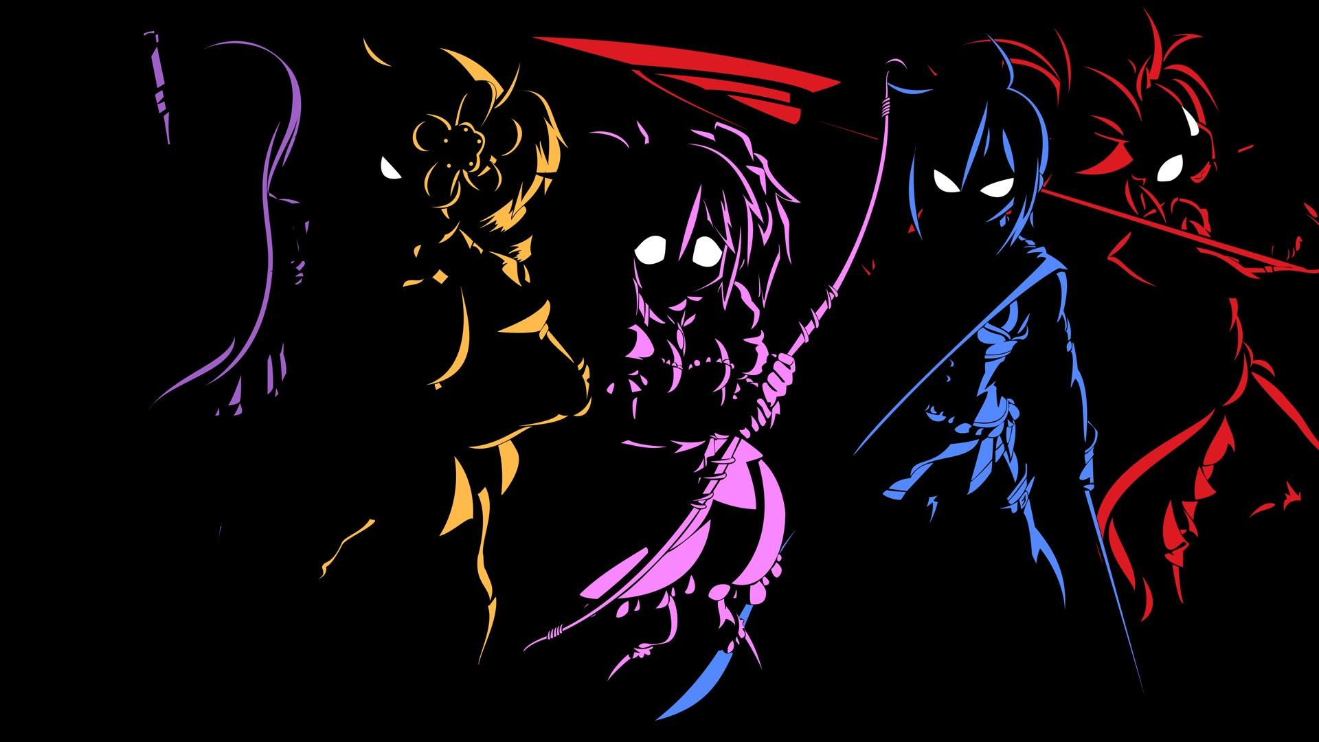 Black Anime Character 10 Background - Hdblackwallpaper.com