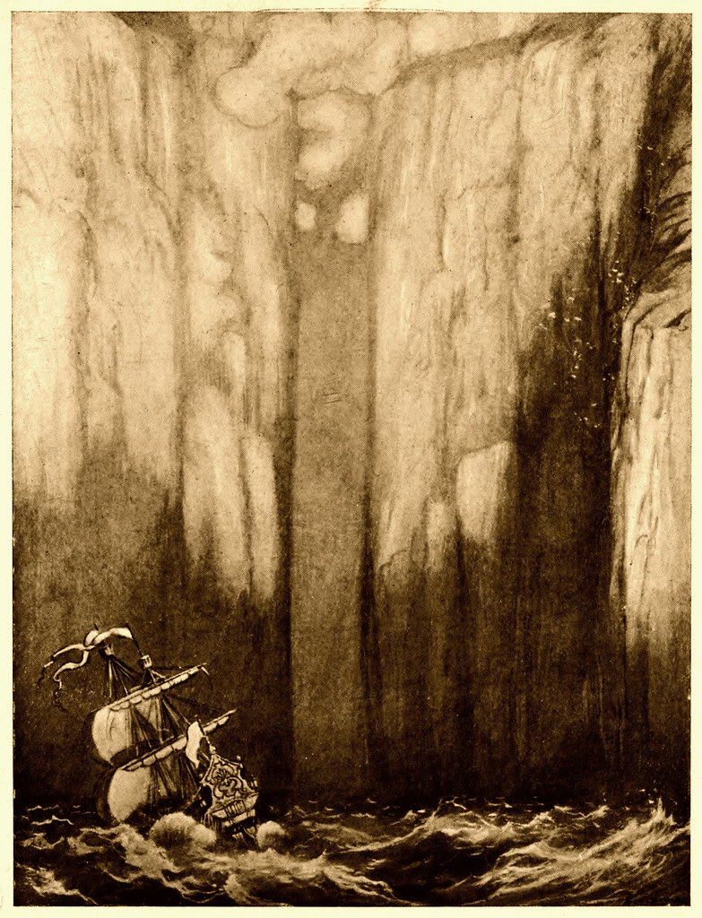 Sidney Sime - The Gate Of Yann (1910)