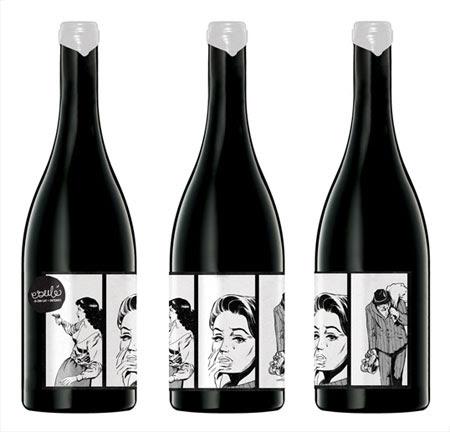 esule wine labels