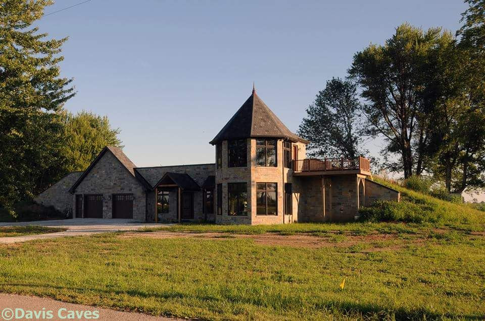 Earth Sheltered Homes By Underground Home Builder Davis Caves Illinois