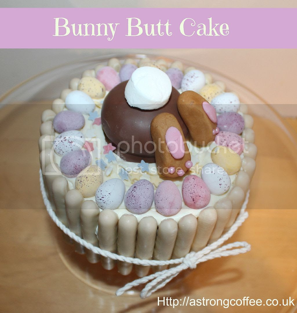 Bunny Butt Cake Tutorial