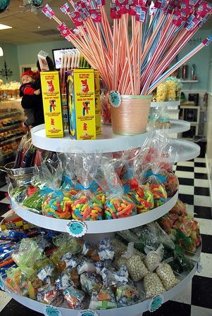 Candy at Sugar Bakery & Sweet Shop