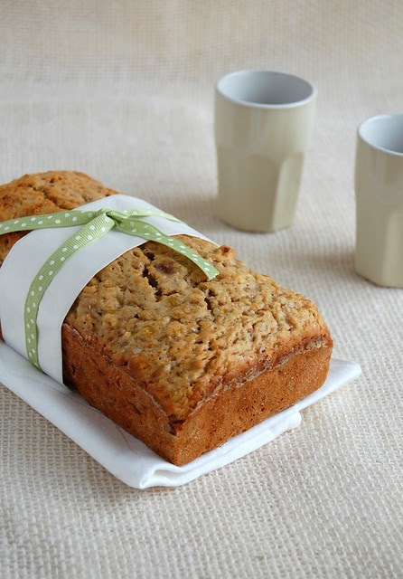 Spiced banana breakfast loaf / Bolo de banana e especiarias