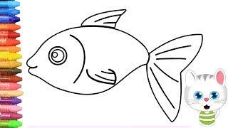 All Clip Of Cara Mewarnai Ikan Bhclipcom