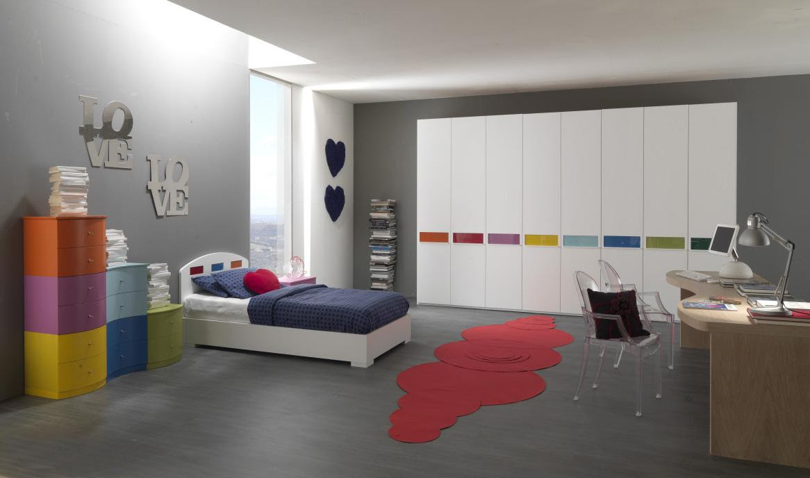 Teen Room Ideas : Clean Color Combination 3grey Teen Room Ideas ...