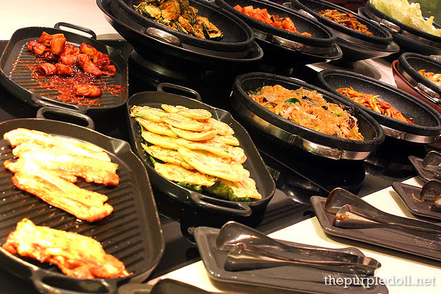 Korean Food at Spiral Sofitel