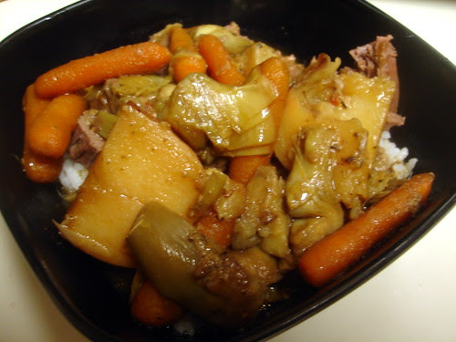 Pot Roast with Artichokes