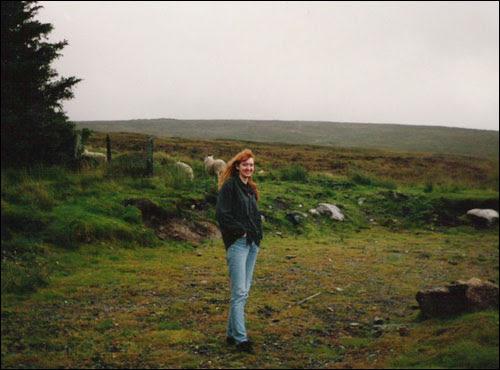 Ck, Dublin mountains, 1991