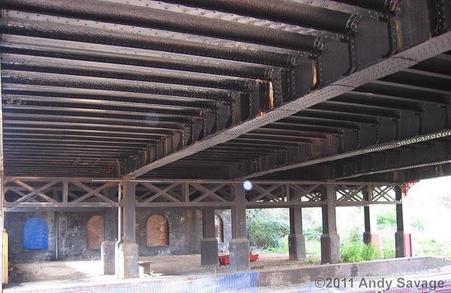Rossmore Road bridge build by Andrew Handyside.