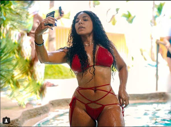 Bikini-Clad Ashanti Gets 'WET' In Sultry New Photos