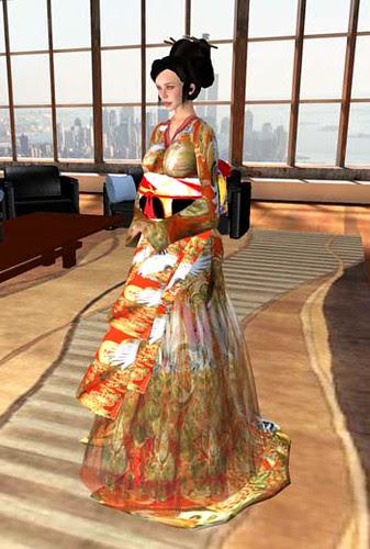 Jet in a kimono