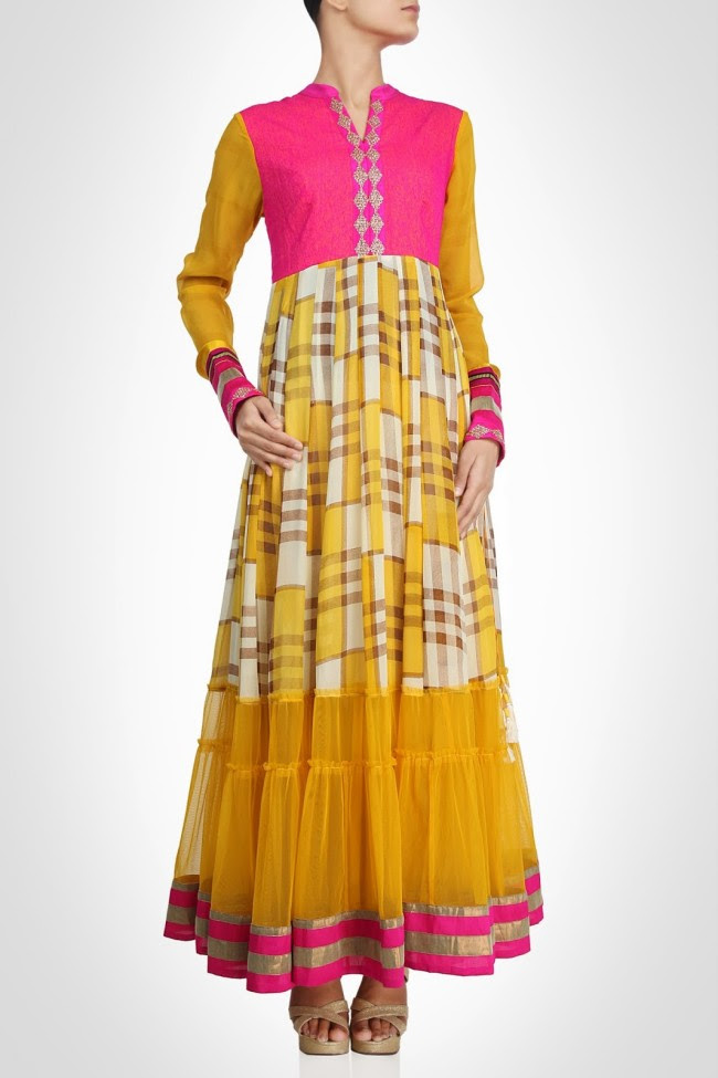 Girls-Wear-Beautiful-Maxi-Anarkali-Fashion-Frock-Fashion-by-Designer-Debashri-Samanta-0