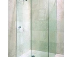 What are advantages of shower door vs. shower curtain. - Houzz