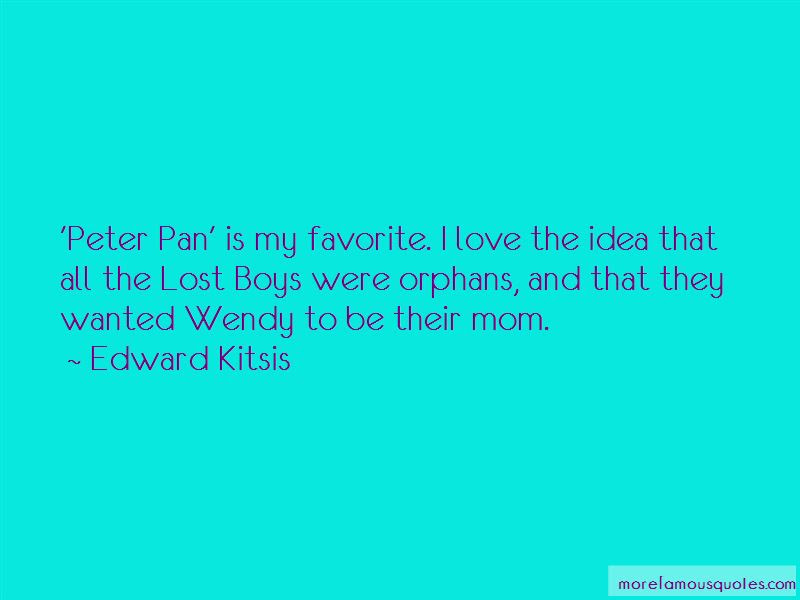 Peter Pan Wendy Love Quotes Top 1 Quotes About Peter Pan Wendy Love