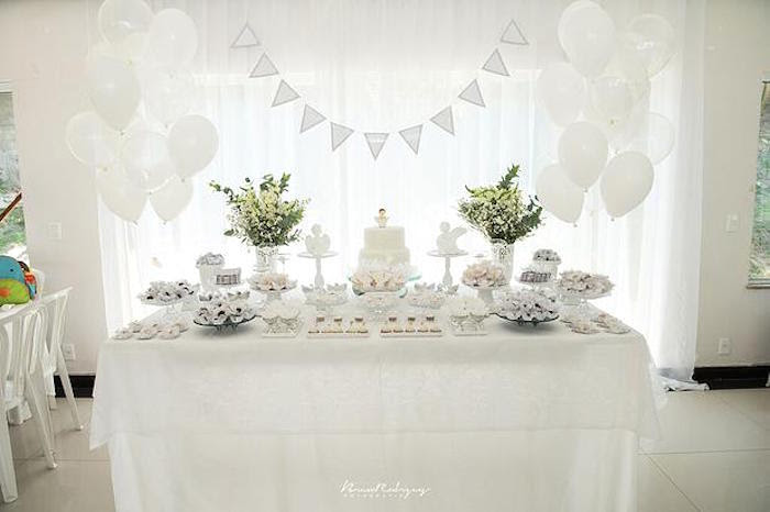 White Party Table Decorations Loris Decoration