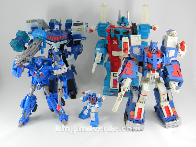 Transformers Ultra Magnus Voyager - Transformers Prime RID - modo robot vs otros Ultra Magnus