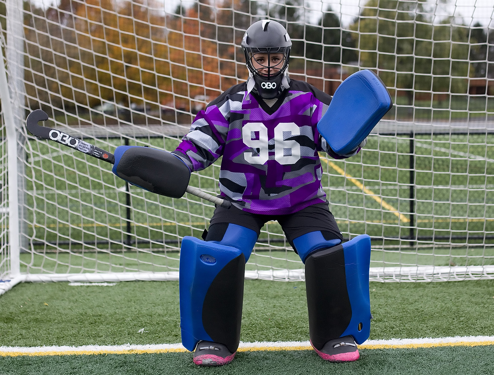 Field Hockey Keeper Drills