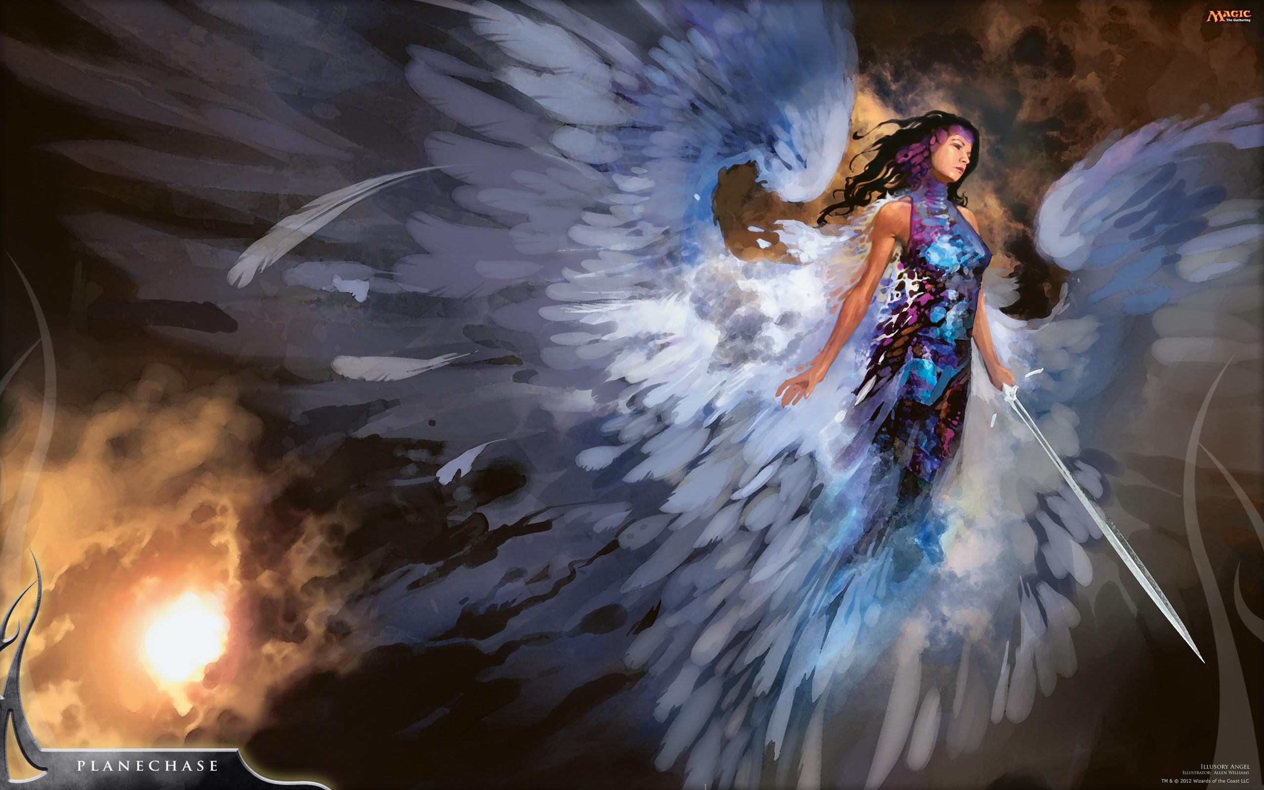幻影の天使 Illusory Angel イラストが美しいmtgカードまとめ