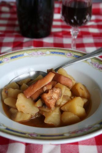 Potas con patatas