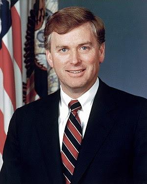 Portrait of DoD Mr. J. Danforth Quayle, Vice P...