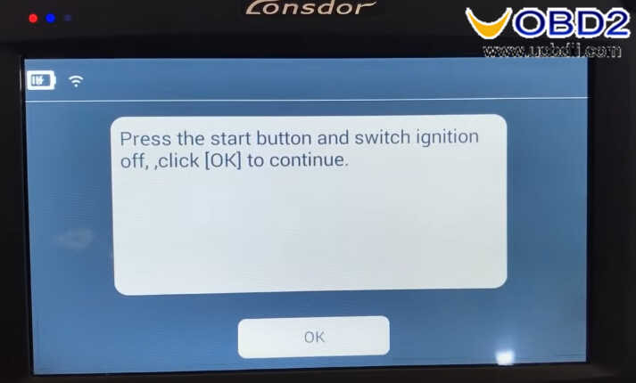 Lonsdor K518 Smart Key Programming for Chevrolet IMPALA 2014 (21)