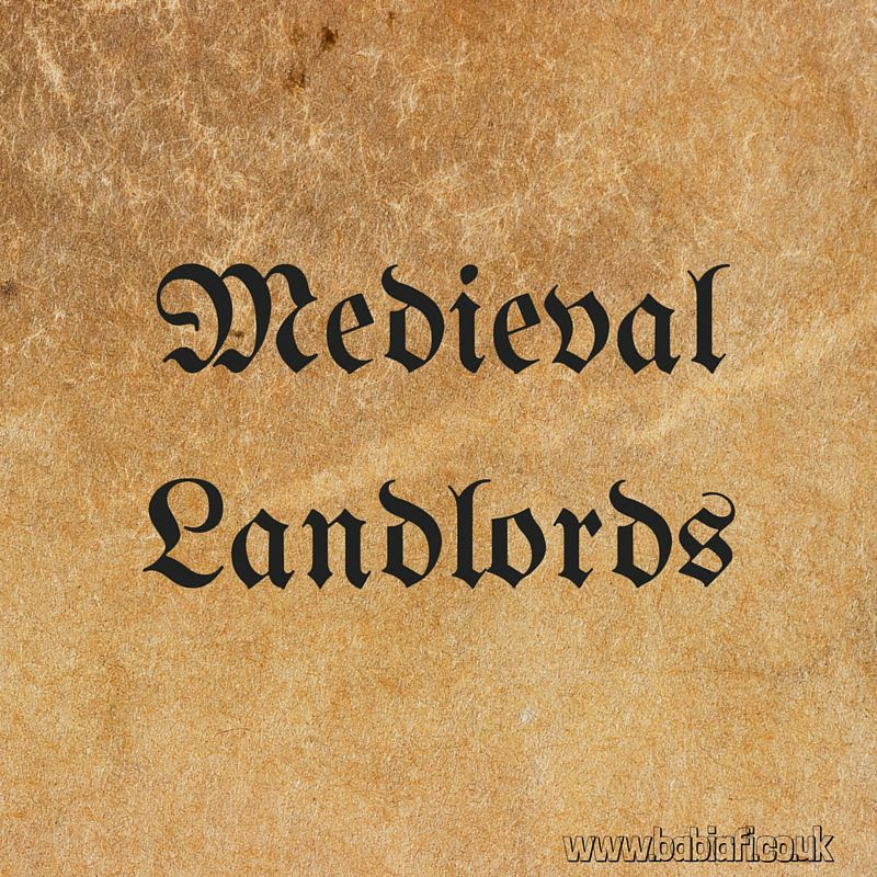 Medieval Landlords