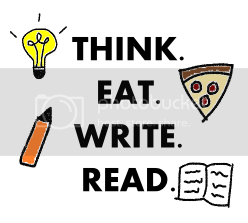 think. eat. write. read.