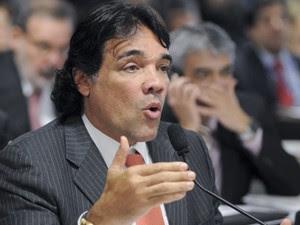 O senador Lobão Filho (PMDB-MA), em reunião da CCJ no Senado (Foto: Geraldo Magela/Agência Senado)