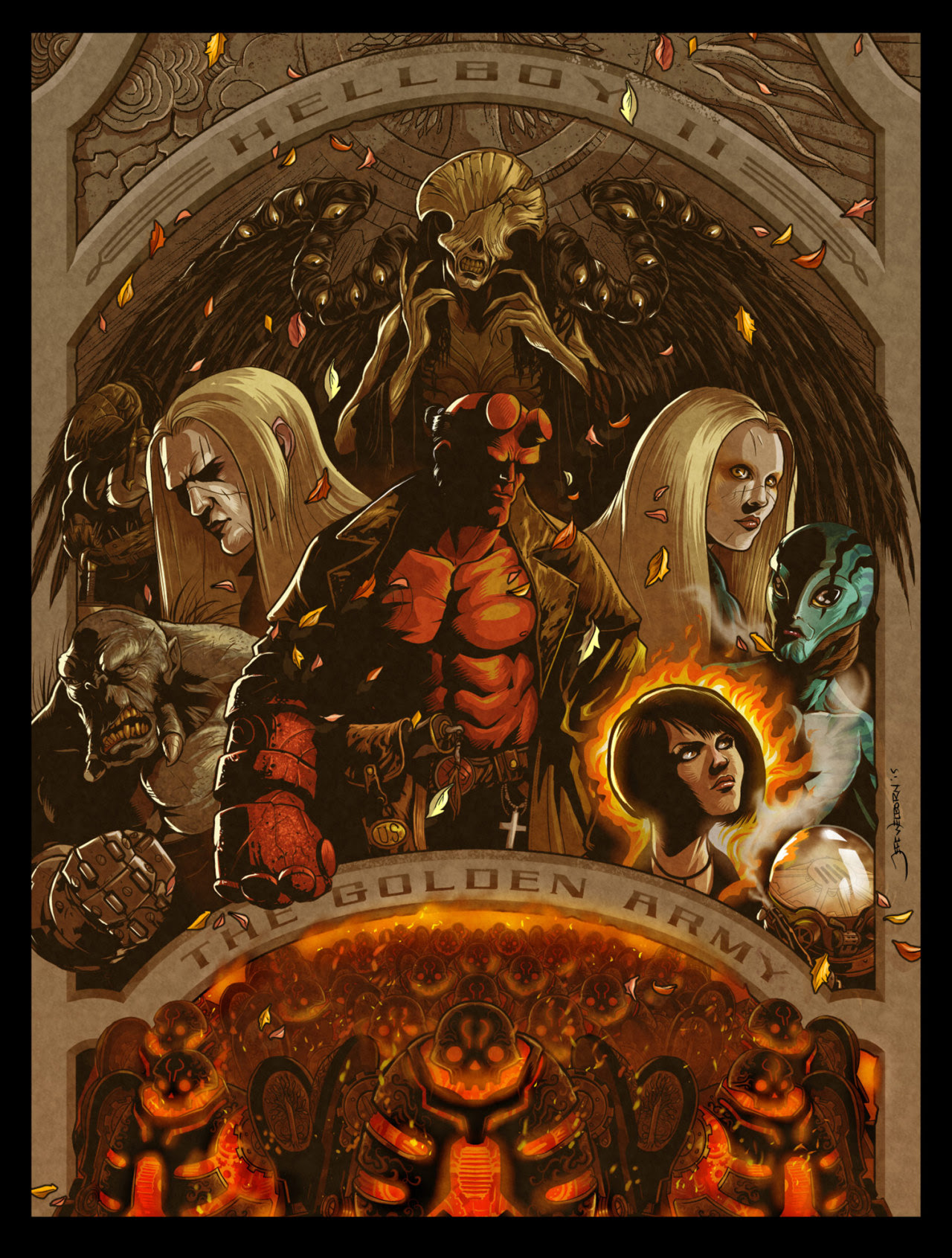 Hellboy II The Golden Armyby Jeff Welborn