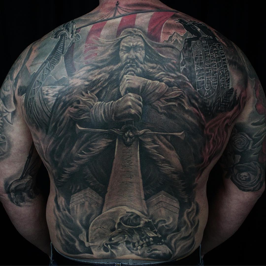 95+ Best Viking Tattoo Designs & Symbols - [2019 Ideas]