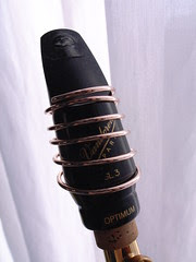 Saxophone mouthpiece with T Series rigature