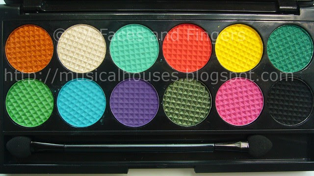 sleek curacao palette 3