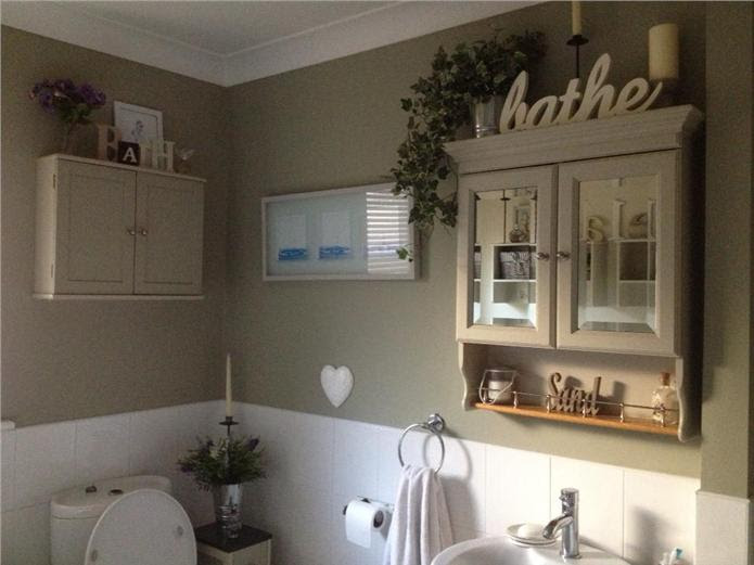 Farrow and Ball French Gray Bathroom
