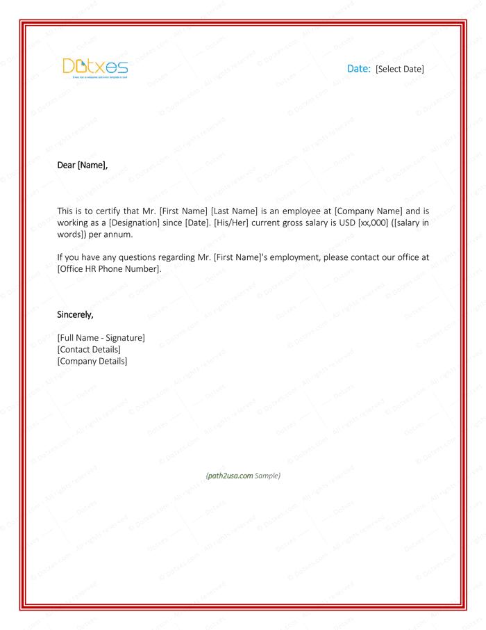 Printable Employment Verification Letter from lh6.googleusercontent.com