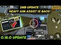 Aim Assist is Back after 2mb Update | Pubg Mobile Lite 0.18.0 official U...